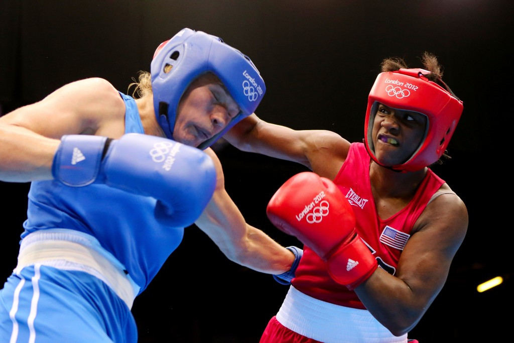 American middleweight Claressa Shields is the reigning Olympic and world champion