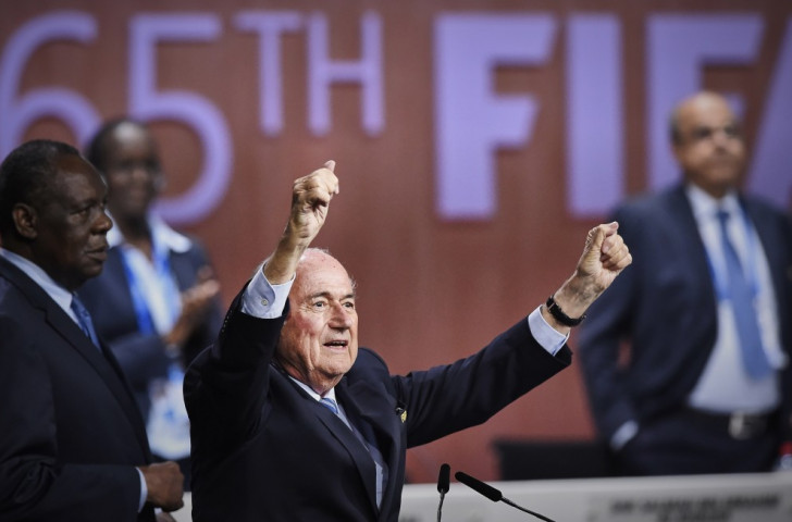 Sepp Blatter has been forced into a second round of voting in the FIFA Presidential contest ©AFP/Getty Images