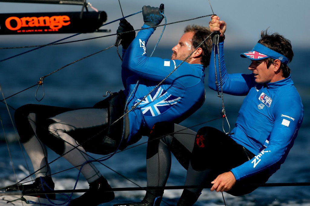 British pairing keep Rio 2016 selection hopes alive by making gold fleet races at 49er and 49erFX European Championships