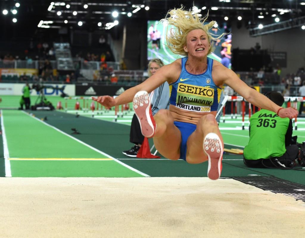 Ukraine's Anastasiya Mokhnyuk is the latest athlete to test positive for meldonium ©Getty Images