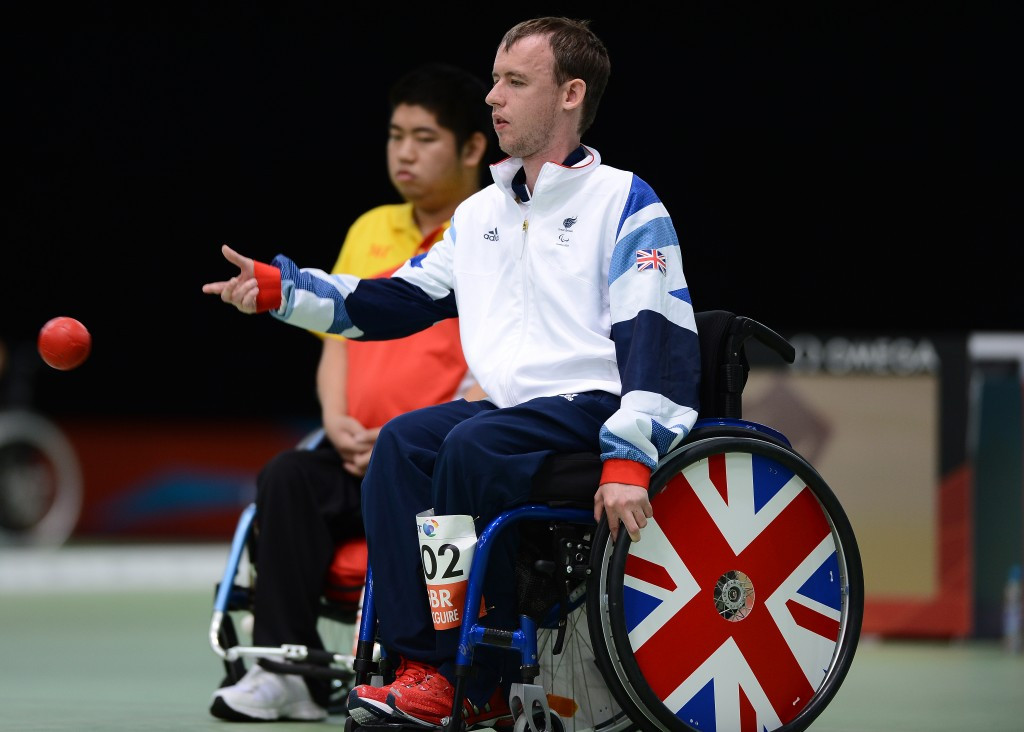 Newly-crowned boccia world champion Stephen McGuire has been named the IPC Athlete of the Month for March ©Getty Images