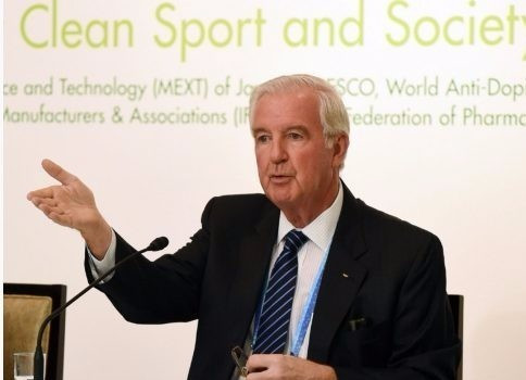WADA President Sir Craig Reedie has warned they not will take over responsibility for drug testing until 2018 ©YouTube
