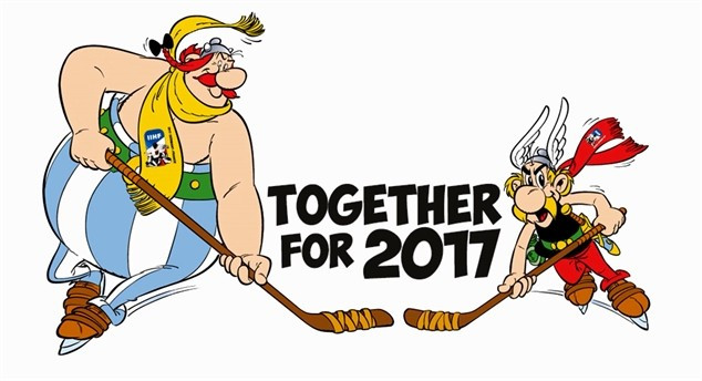 Asterix and Obelix named as mascots for 2017 IIHF World Championship