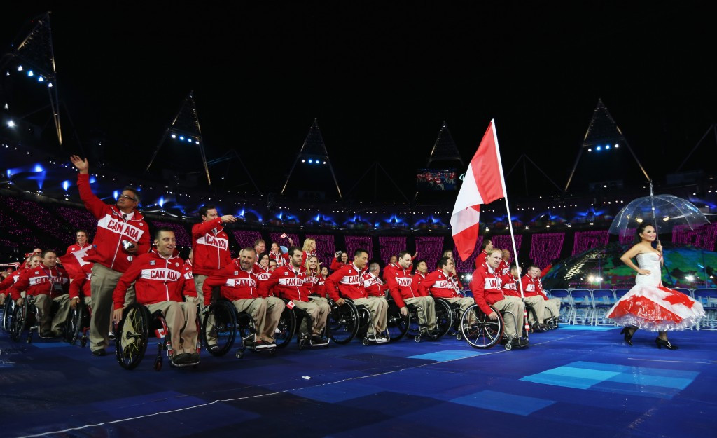 Canada set target of finishing in top 16 at Rio 2016 Paralympics as aim to bounce back from London 2012 disappointment