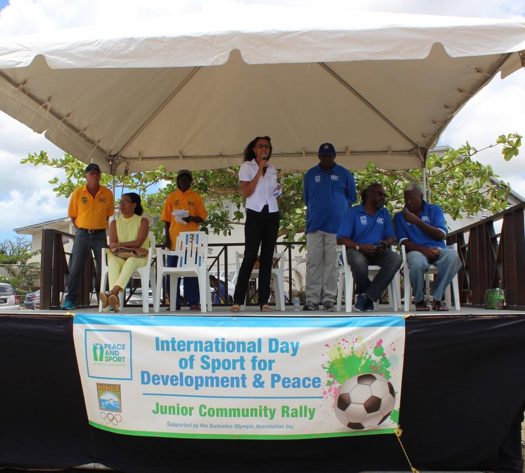 Barbados Olympic Association stage junior community rally