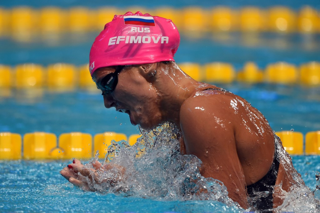 FINA turn down appeal from Efimova to lift meldonium ban in time to compete at Russian Olympic trials