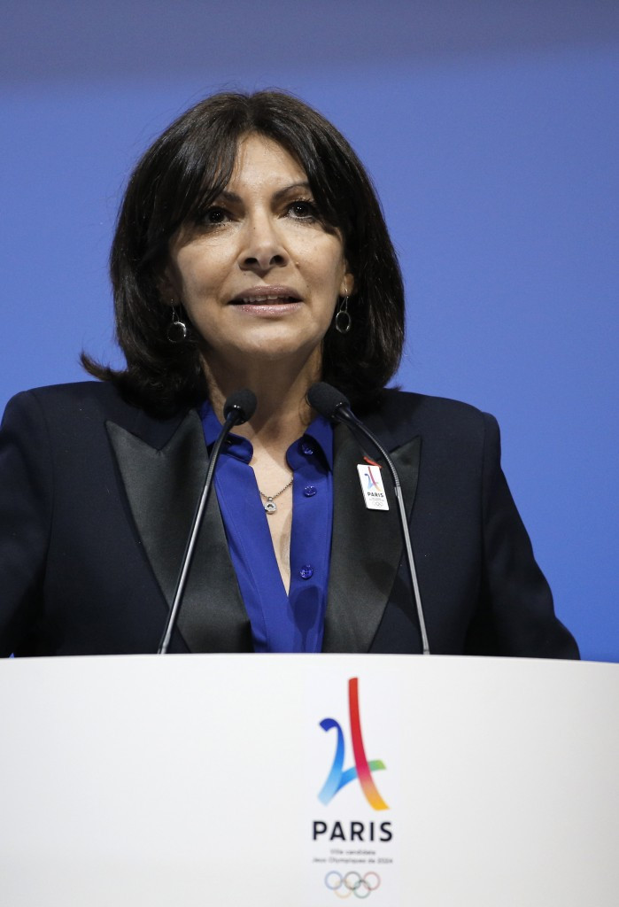 Paris Mayor Anne Hidalgo has claimed it will be an honour to present their Olympic and Paralympic Games vision ©Getty Images