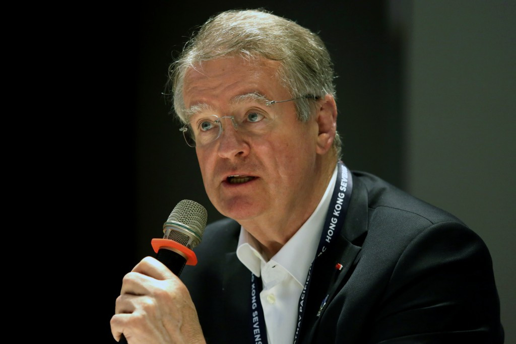 Bernard Lapasset will be attending in his role as World Rugby chairman