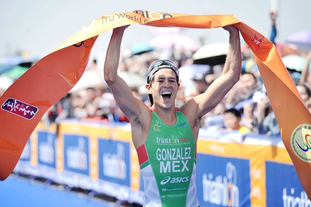 Gonzalez secures first ITU World Cup podium with victory in Chengdu