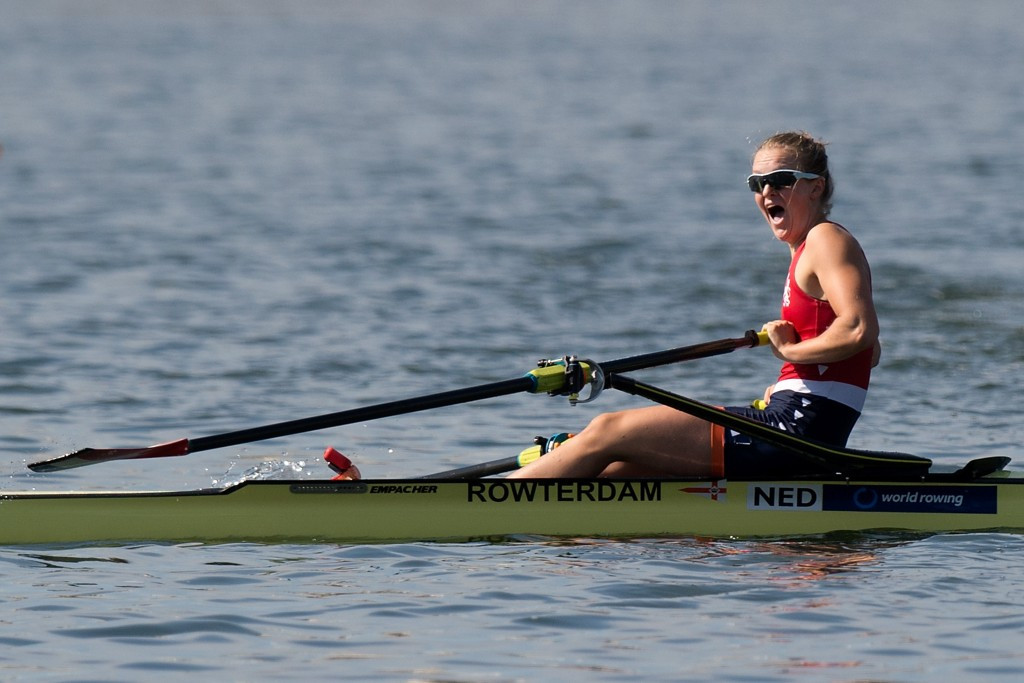 Hrvat claims men's lightweight single sculls title at World Rowing Cup in Varese