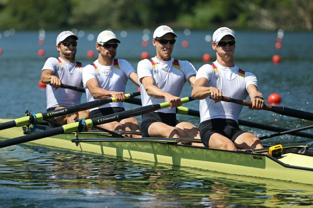 Sven Kessler and Julius Peschel failed to qualify for Rio 2016 in the men's lightweight men's four last year