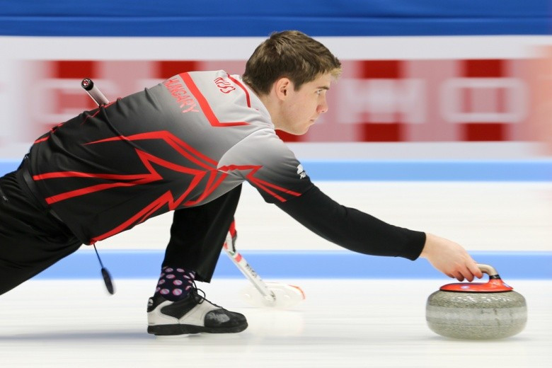 Hungary begin defence of World Mixed Doubles Curling Championship title with victory