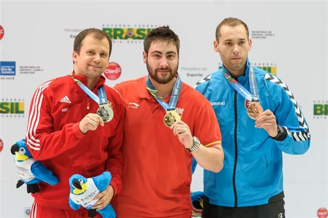 Carrera wins gold with final shot as finals begin at ISSF World Cup in Rio