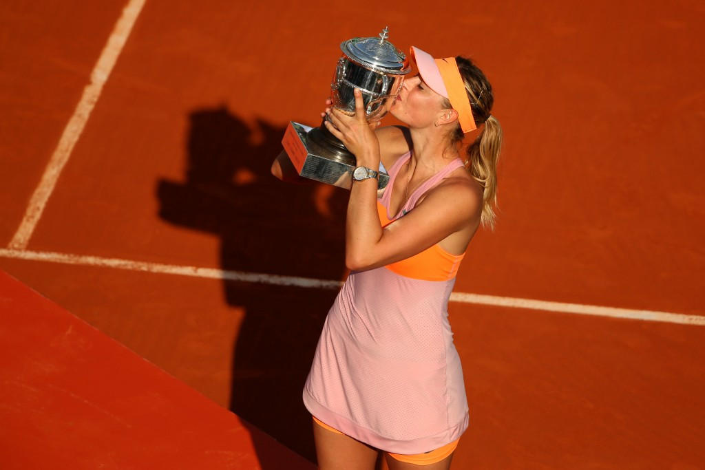 Maria Sharapova is set to miss the French Open, which she has won twice ©Getty Images