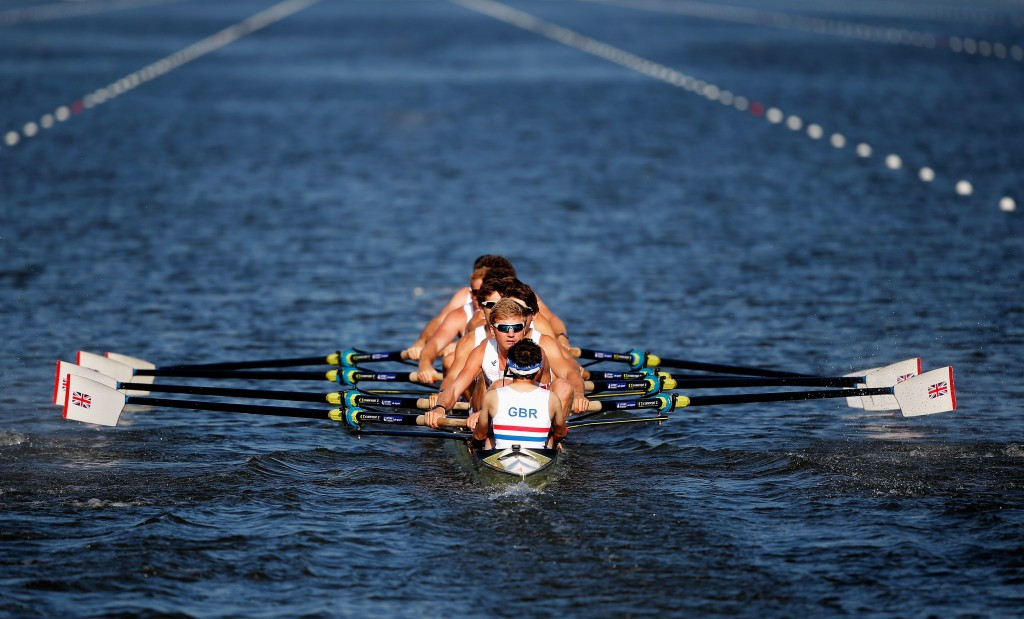 Britain's flagship men's eight back into the winning groove at Poznan European Championships