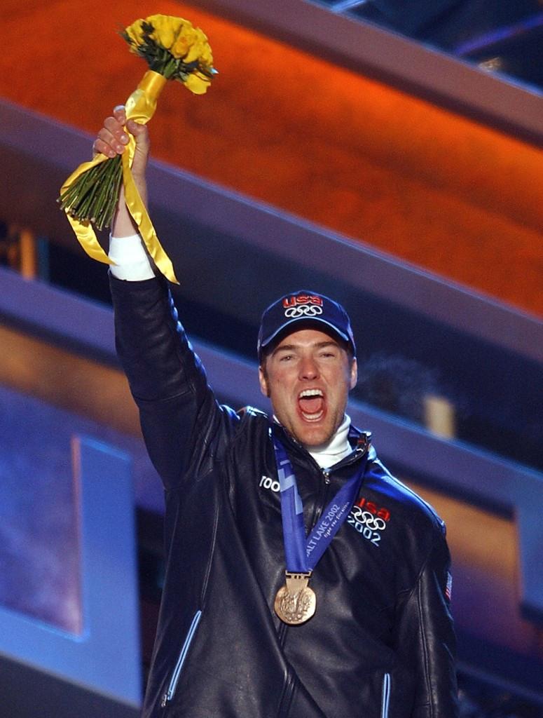 Chris Klug won Olympic bronze in Salt Lake City