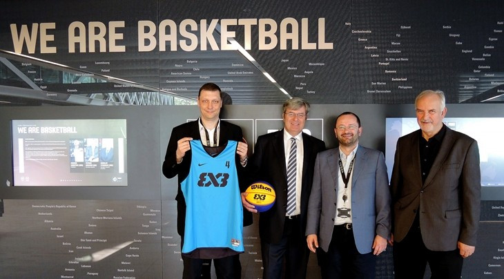 A deal will see Prague host a 3x3 World Tour event for the next four years ©FIBA