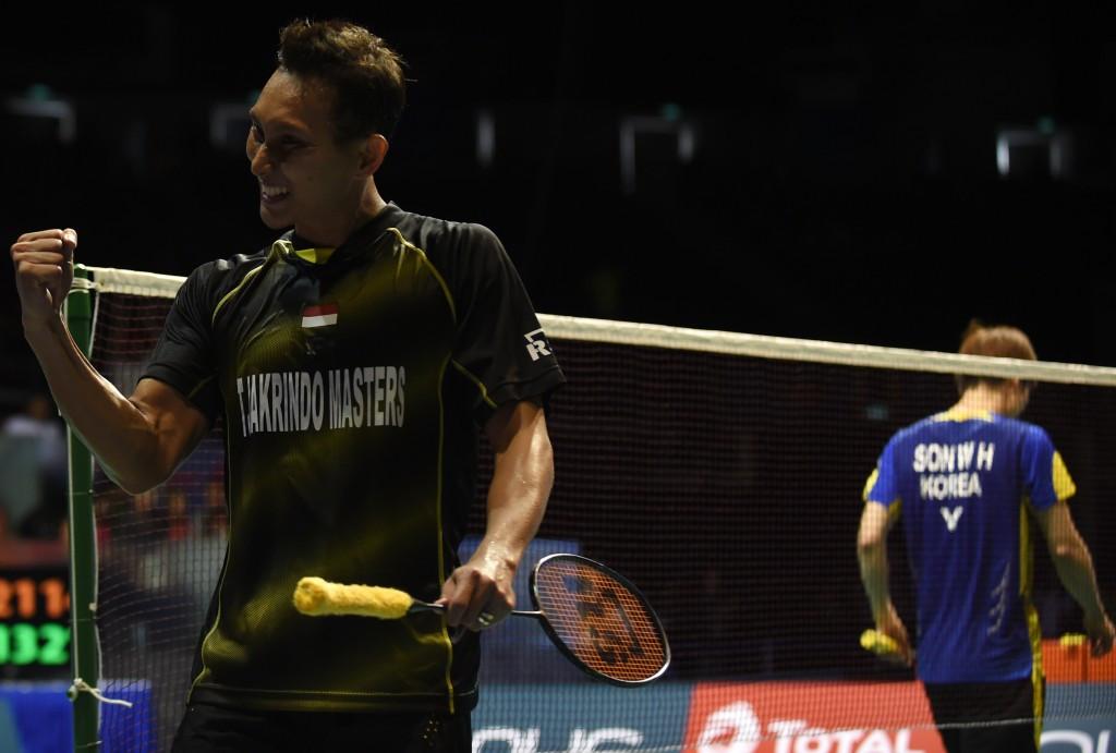 Sony Dwi Kuncoro won the men's title