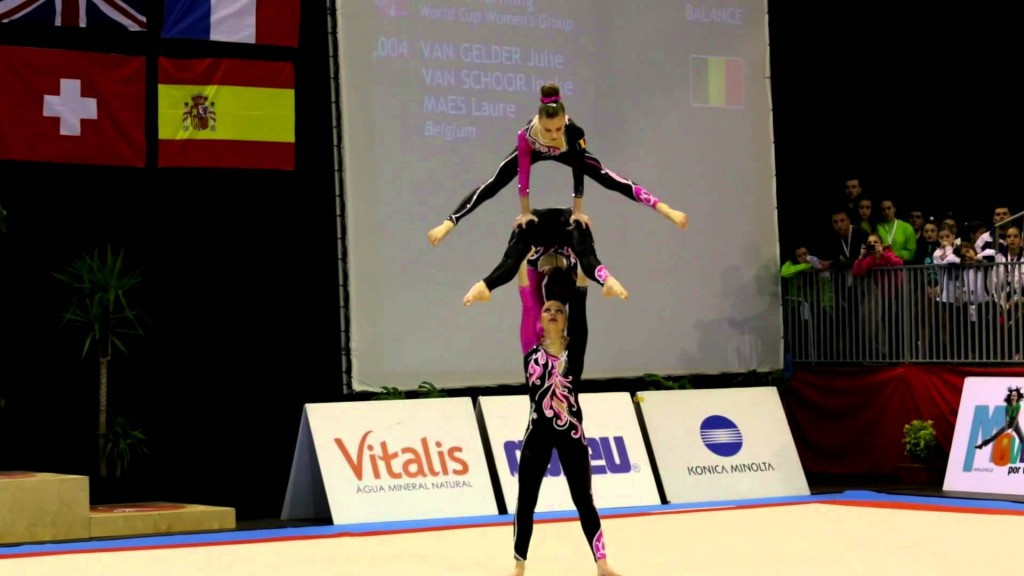 Sports acrobatics will be hoping to impress the IOC at the 2017 World Games in Wroclaw ©YouTube