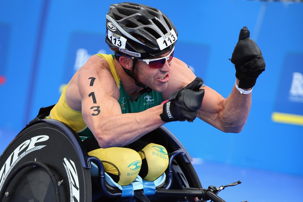 Australia's Chaffey takes first win of the year at Para-triathlon event in London