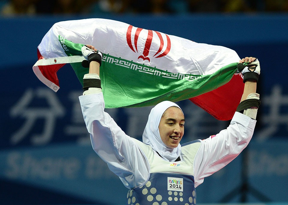 Iranian world bronze medallist Alizadeh secures Rio 2016 taekwondo spot
