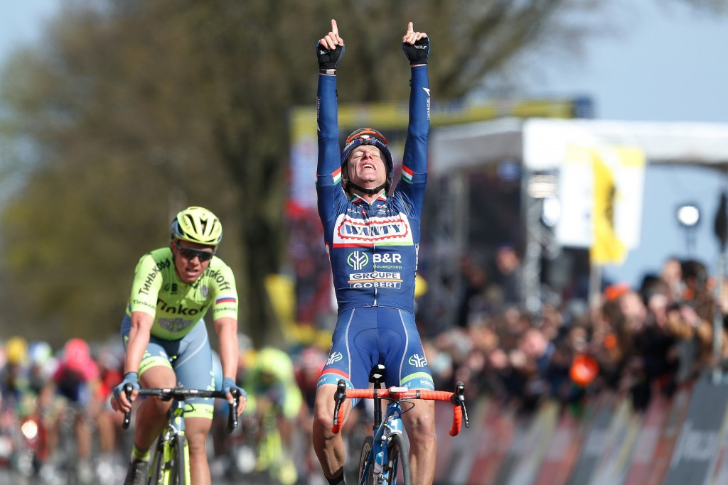 Gasparotto claims second Amstel Gold Race victory