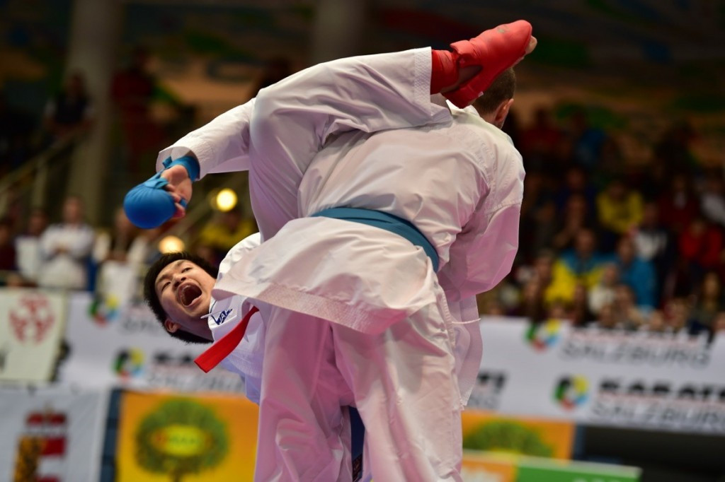 Five-star Japan dominate final day of Karate1 Premier League in Salzburg
