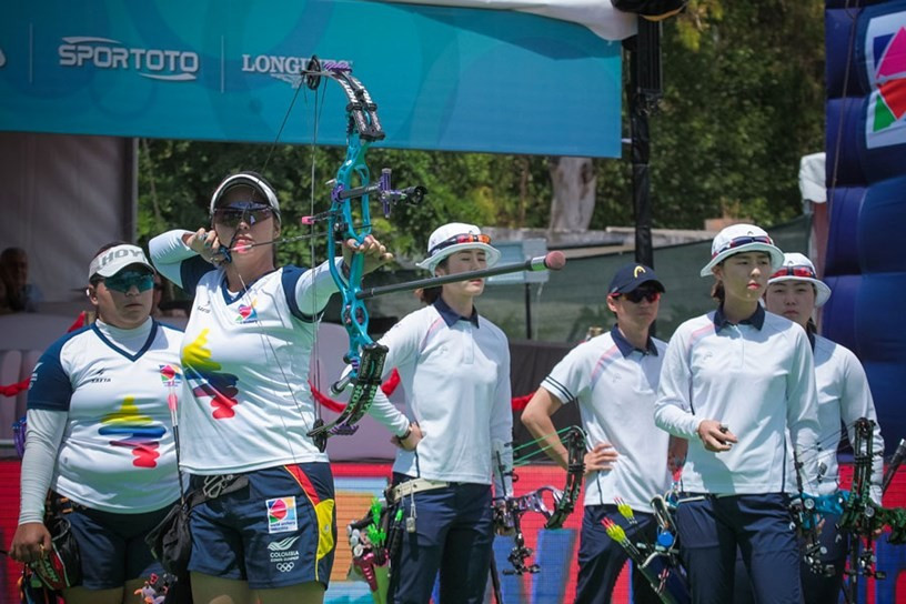 Colombia show their class with victory at Archery World Cup in Antalya