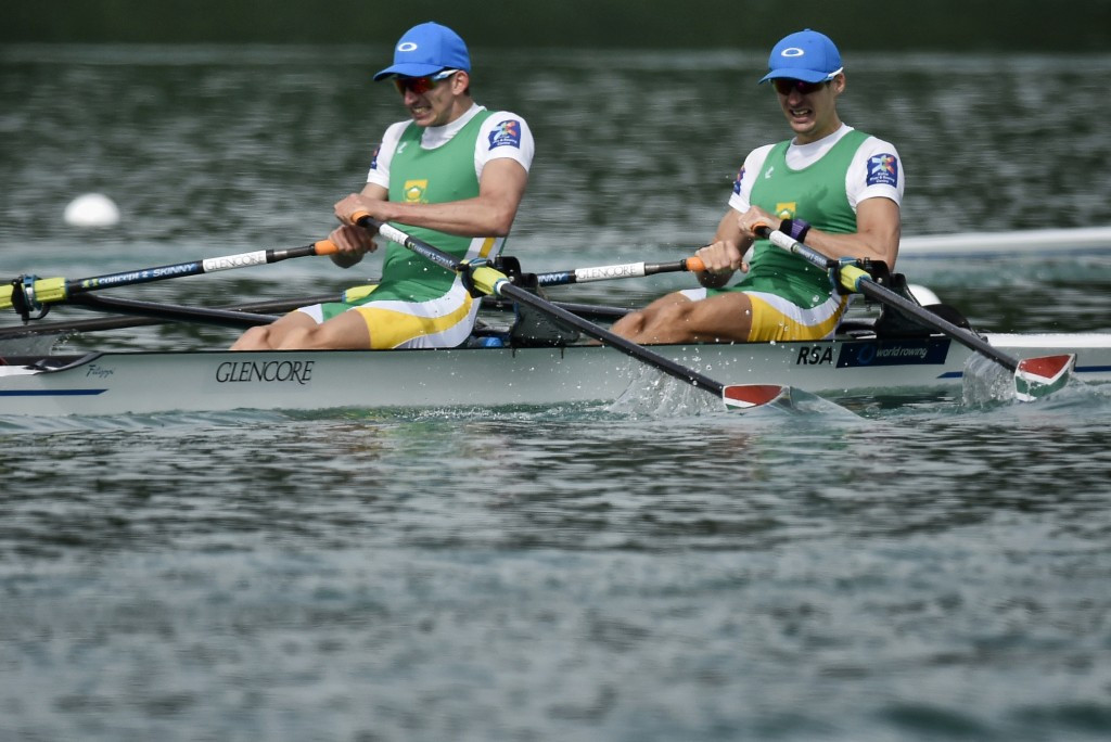 James Thompson and John Smith triumphed in the men's lightweight double sculls event