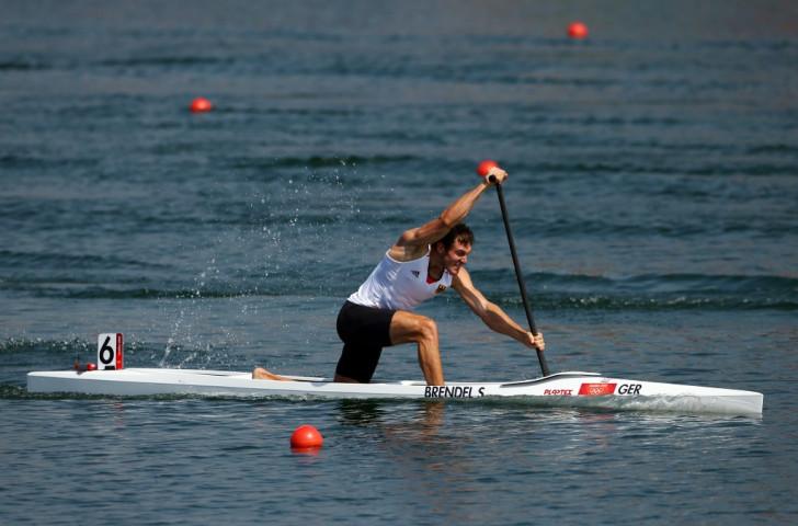 Reigning Olympic champion Sebastian Brendel was one of five German winners today in Copenhagen ©Getty Images