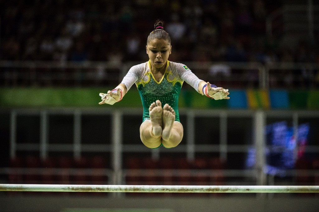 Brazil secure women's artistic gymnastics team spot after success at Rio 2016 test event