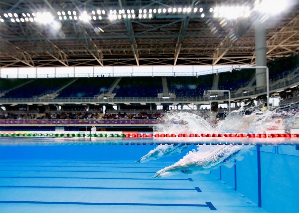Venues including the new Aquatics Centre appear impressive, despite lingering concerns ©Getty Images