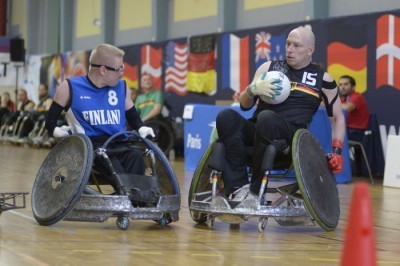 United States and France start with two wins at Rio 2016 wheelchair rugby qualifier
