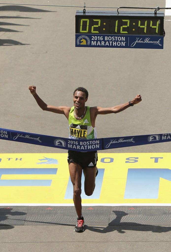 Ethiopians Hayle and Baysa storm to Boston Marathon success