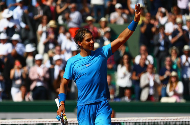 Rafael Nadal remains on course for a semi-final showdown with Novak Djokovic at the French Open ©Getty Images