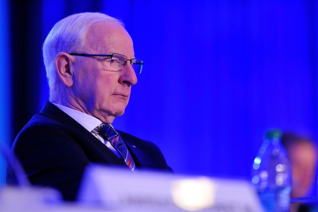 EOC President Patrick Hickey has claimed the strong action taken by FIBA by suspending countries is necessary to help protect the future of the Olympic Games ©Getty Images