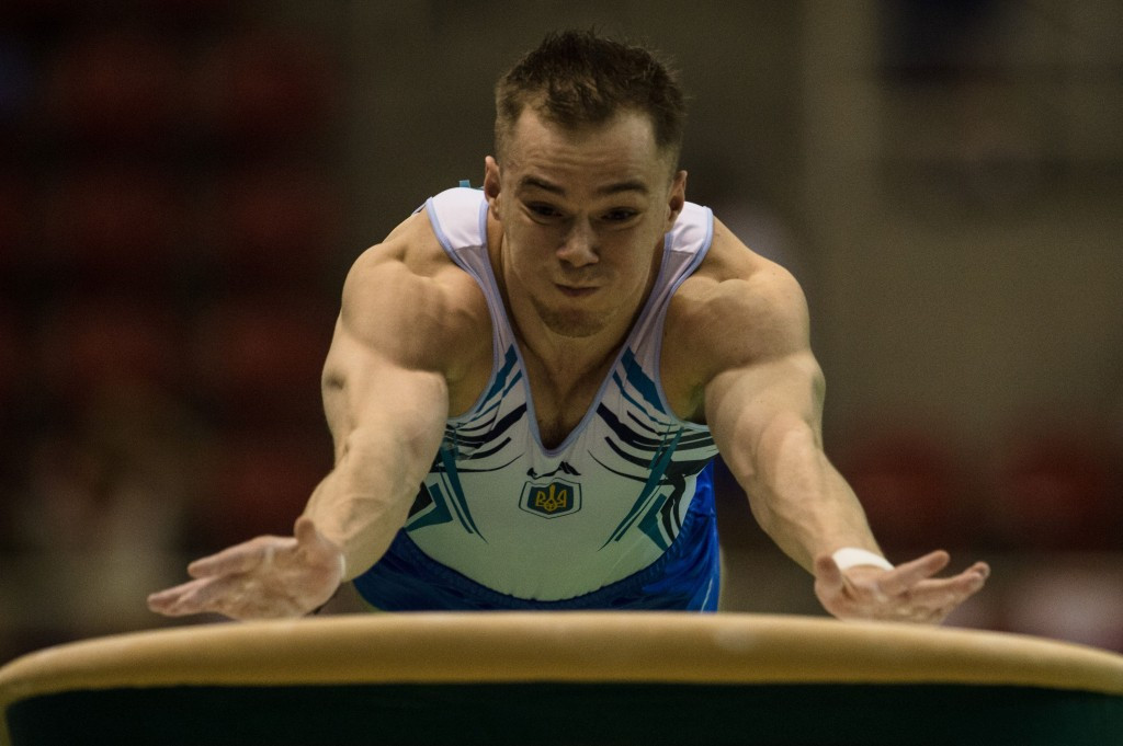 Verniaiev earns triple gold at Rio 2016 gymnastics test event hit by technical problems