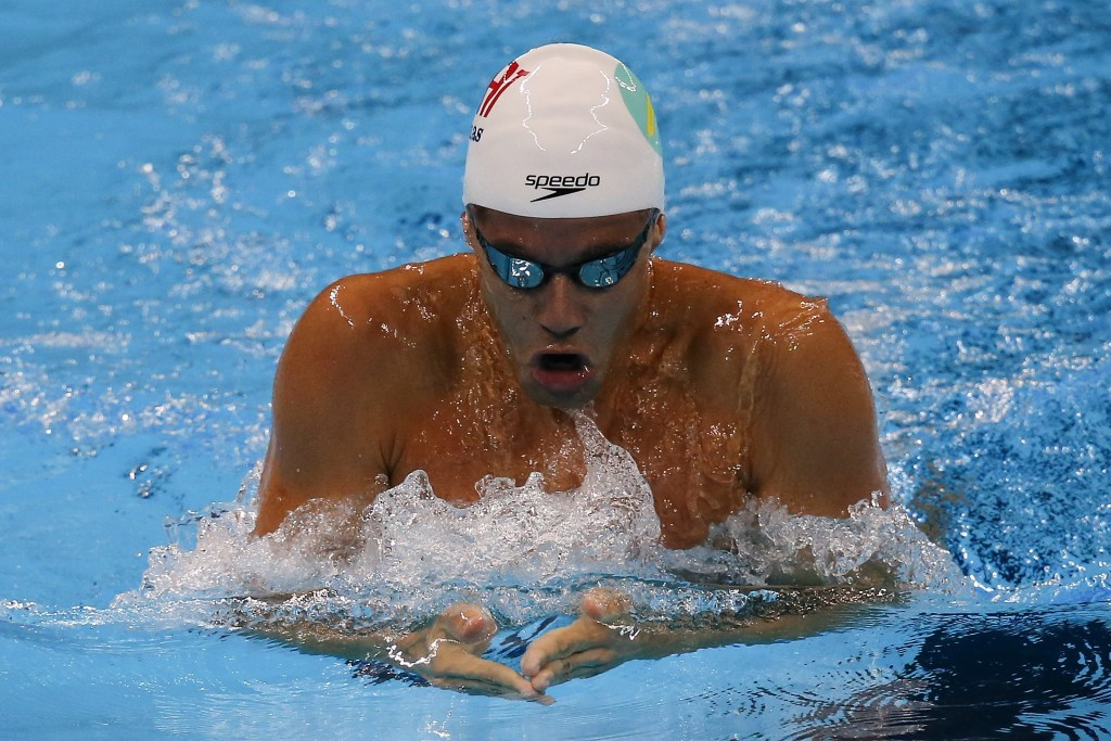 Thiago Pereira won the men's 200m breaststroke but failed to qualify for Rio 2016 in the event