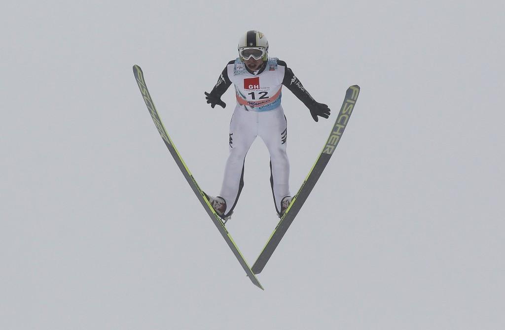 Sebastian Colloredo was the only Italian ski jumper to score World Cup points last season