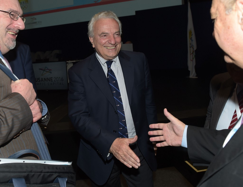 """Ricci Bitti vows to """"enhance Olympic Movement"""" after unanimously re-elected ASOIF President"""