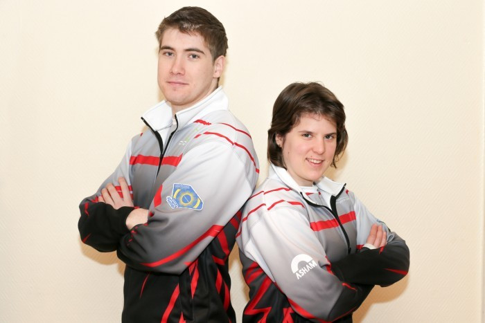Zsolt Kiss and Dorottya Palancsa maintained their good form for Hungary ©WCF