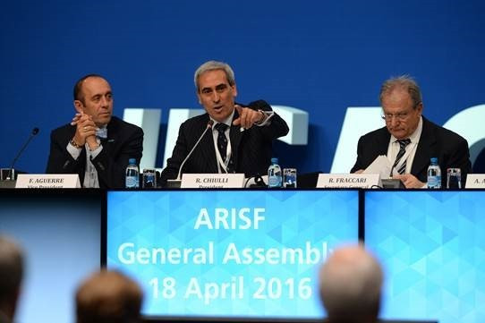 Raffaele Chiulli claimed cooperation between the IOC and ARISF has never been better ©ARISF