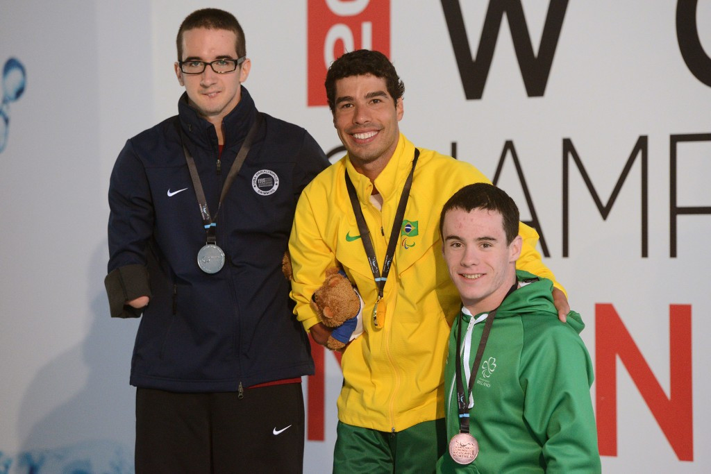 James Scully, right, will also compete for Ireland
