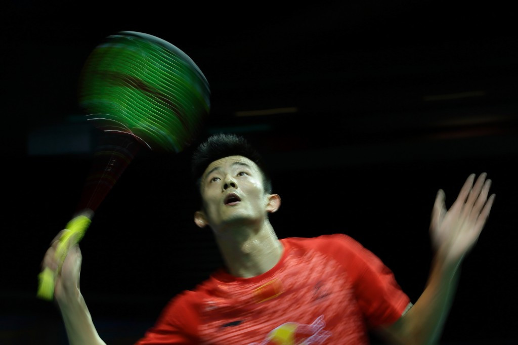 Top seed Chen Long reached the men's quarter finals