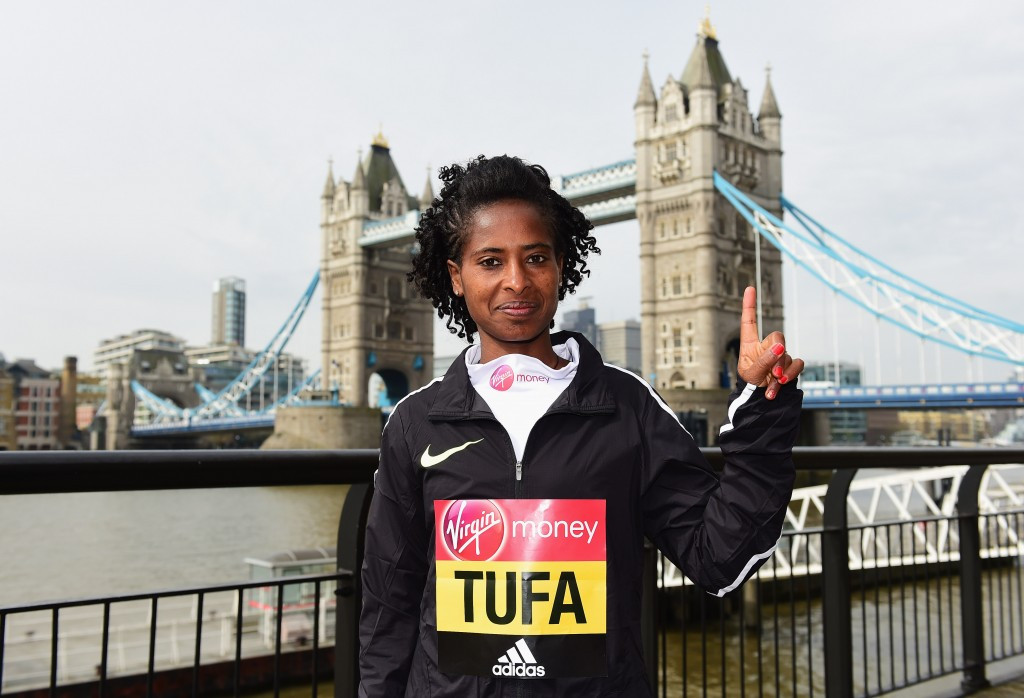 Tufa out to prove last year's London Marathon victory was no fluke