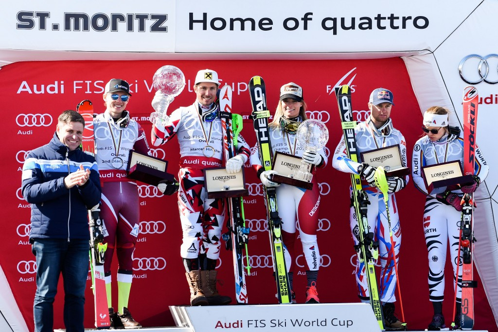 St Moritz held a successful World Cup finals in March