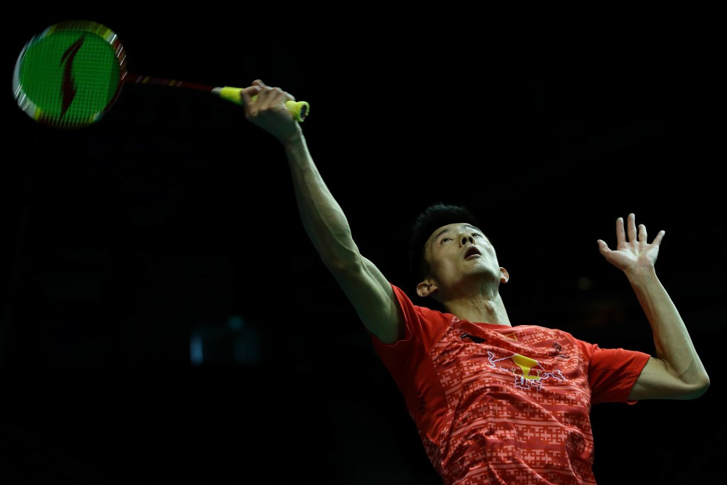 Top men's seed Chen Long remains in contention