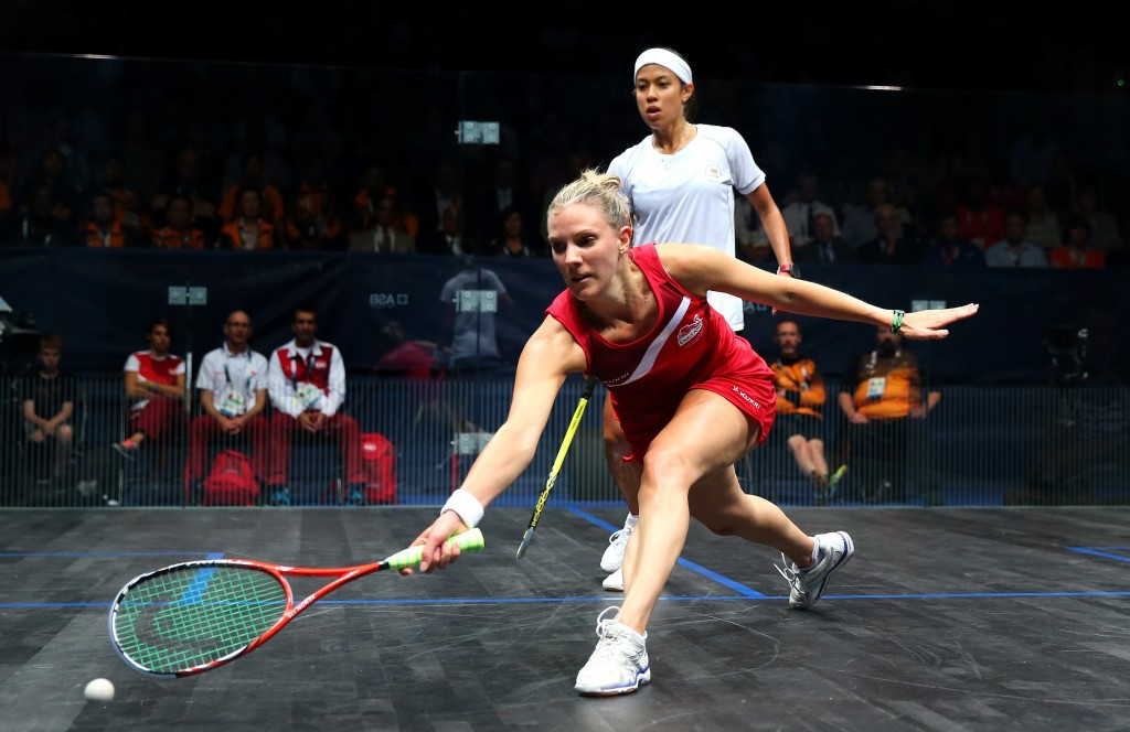 England's Laura Massaro will head into the tournament as the top seeded player