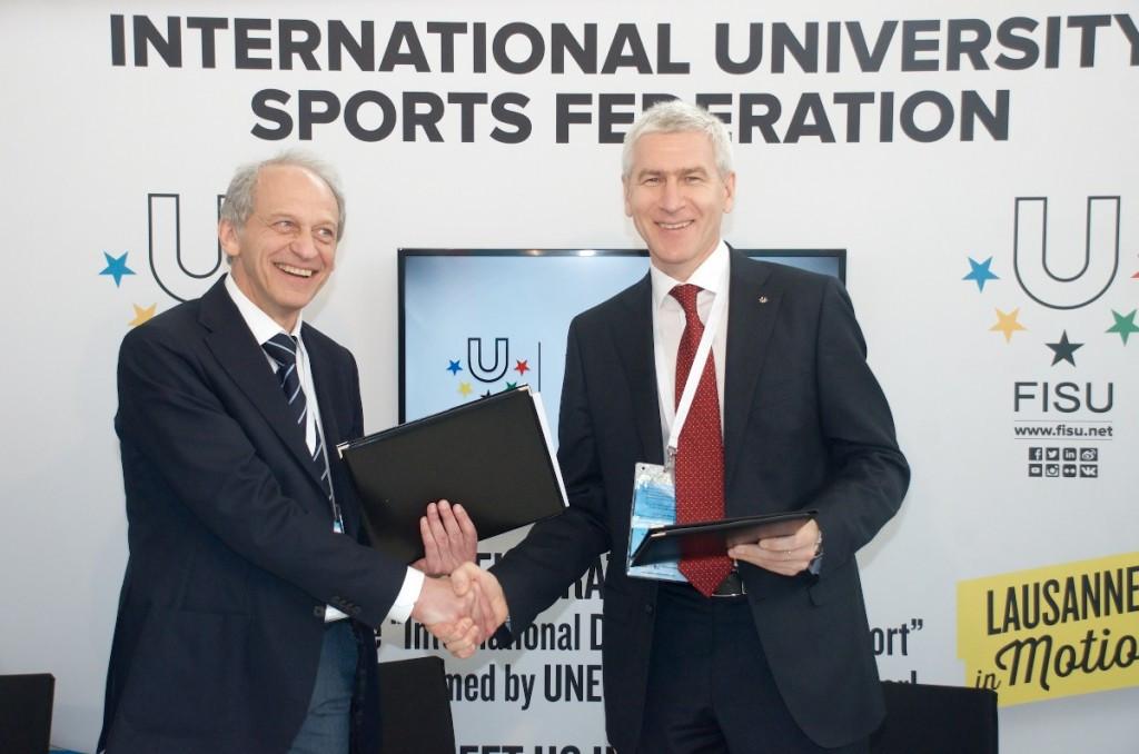 FISU sign Memorandum of Cooperation with Russian International Olympic University