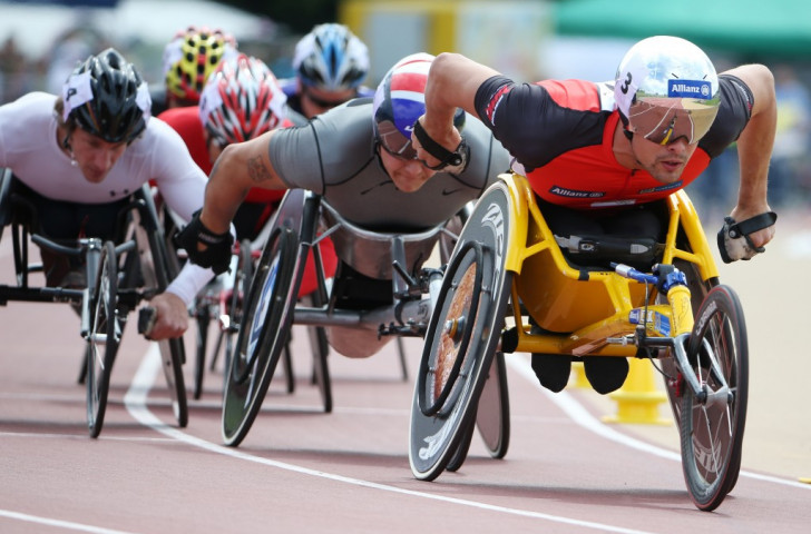 Switzerland's Marcel Hug claimed two gold medals on the second day of action in Nottwil